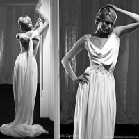 Jodi-lynn's blog: Asymmetrical neckline toga inspired ...