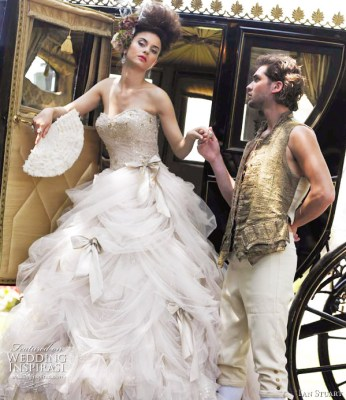 Ian Stuart Antoinette wedding dress from his 2011 bridal collection