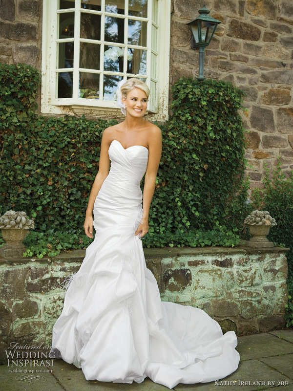 Spring 2011 Wedding Dresses from Kathy Ireland by 2be