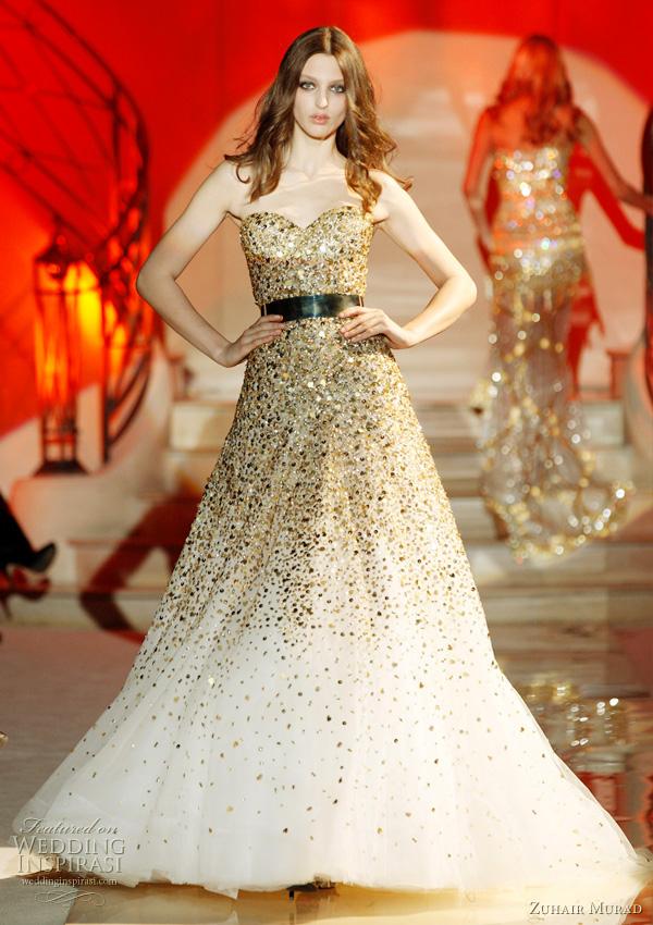 Zuhair Murad SpringSummer 2011 Couture  Wedding Inspirasi