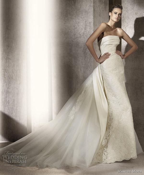 Manuel Mota 2012 Wedding Dresses  Wedding Inspirasi