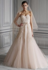 Monique Lhuillier Wedding Dresses Spring 2012 Bridal