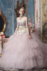 Color Wedding Dresses by Stella de Libero | Wedding Inspirasi