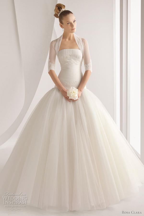 Rosa Clara 2012 Wedding Dresses  Color Bridal Gowns and