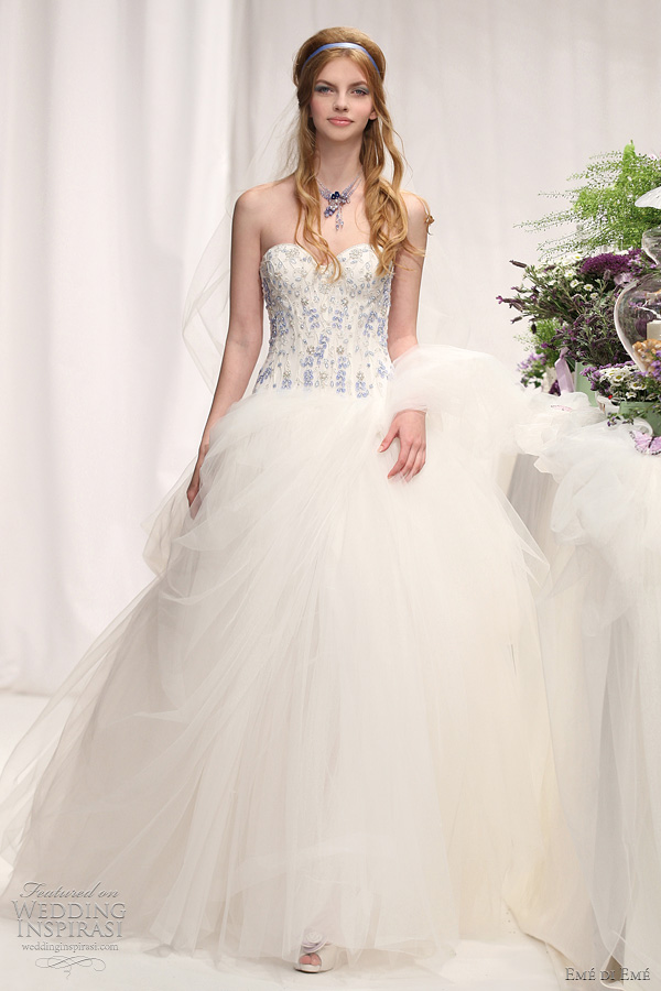 Em Di Em Wedding Dresses Spring 2012 Wedding Inspirasi