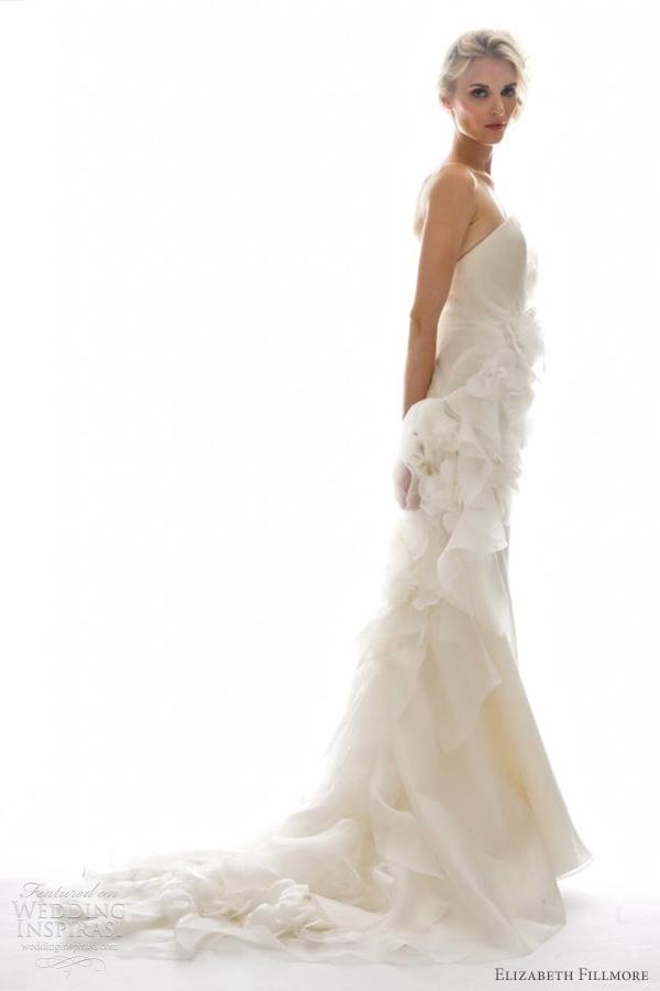 Elizabeth Fillmore Fall 2012 Wedding Dresses  Wedding Inspirasi