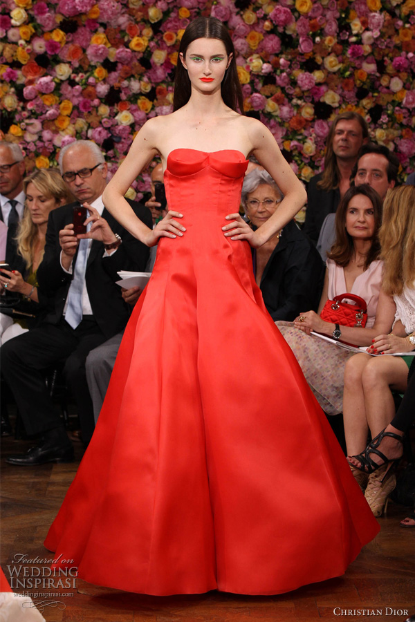 Christian Dior Fall 2012 Couture Wedding Inspirasi Page 2