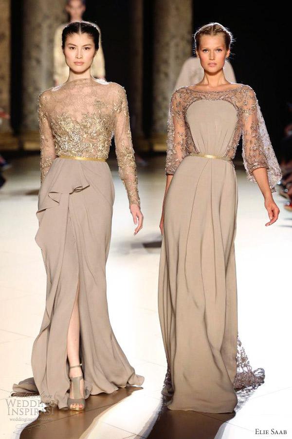 Elie Saab FallWinter 20122013 Couture  Wedding Inspirasi  Page 2