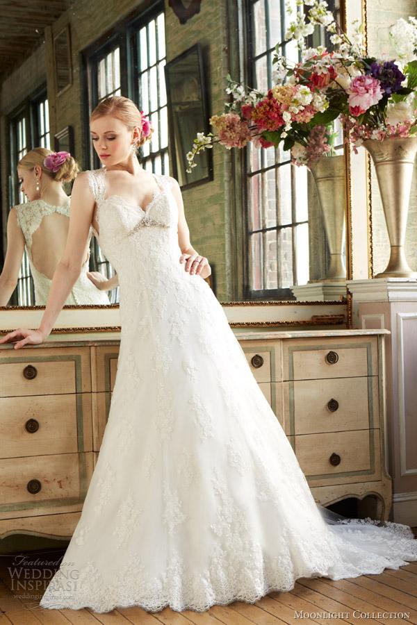 Moonlight Collection Fall 2013 Wedding Dresses  Wedding Inspirasi  Page 2