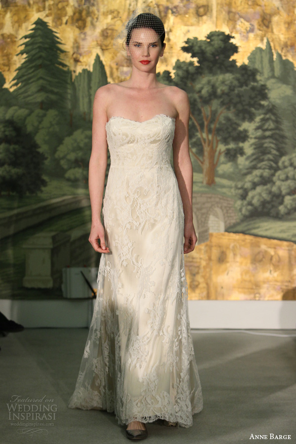 Anne Barge Spring 2014 Wedding Dresses  Wedding Inspirasi