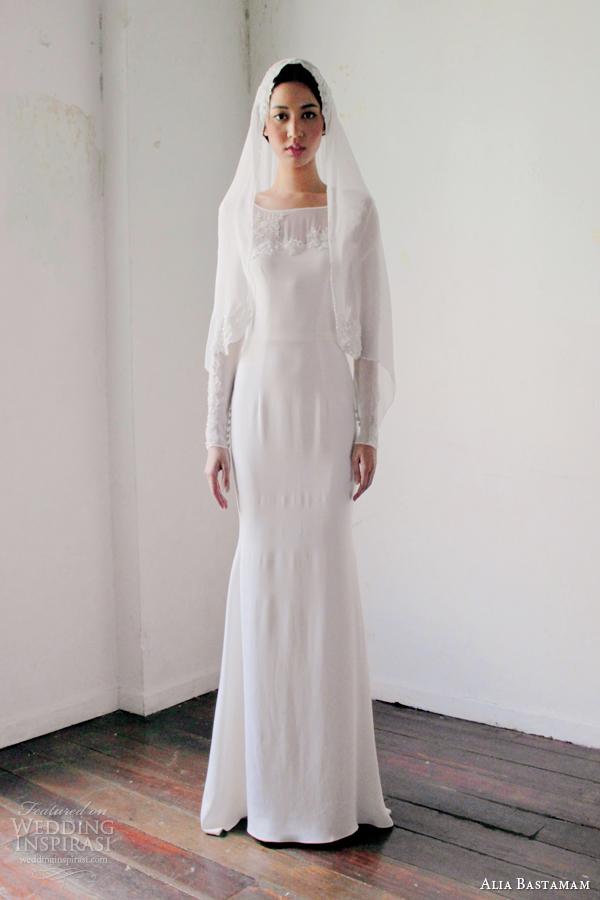 Alia Bastamam 2013 Wedding Dresses  Wedding Inspirasi