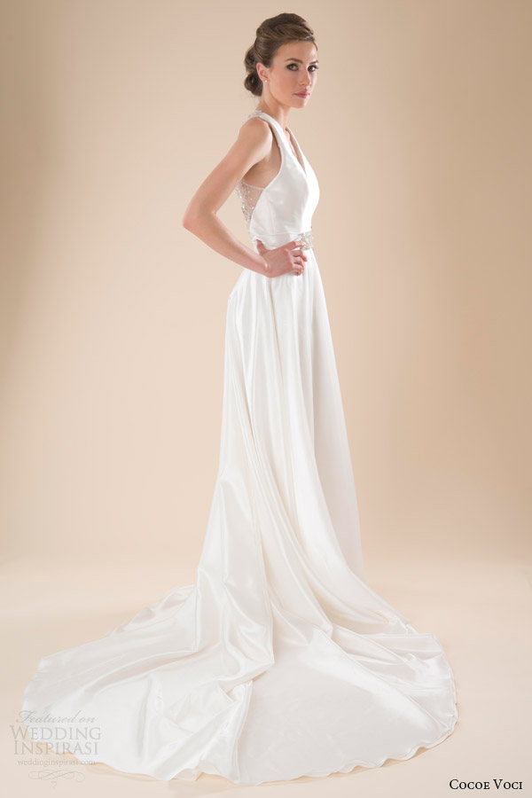 Cocoe Voci Spring 2014 Wedding Dresses  Wedding Inspirasi