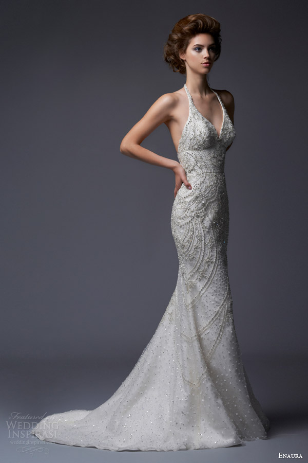 Enaura Bridal Fall 2013 Wedding Dresses  Wedding Inspirasi