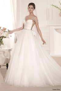 Tarik Ediz White 2014 Wedding Dresses  Part 2 | Wedding ...
