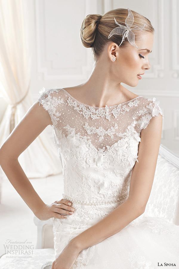 La Sposa 2015 Wedding Dresses Glamour Bridal Collection