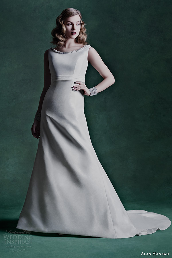 Alan Hannah 2015 Wedding Dresses  Floral Symphony Campaign  Wedding Inspirasi
