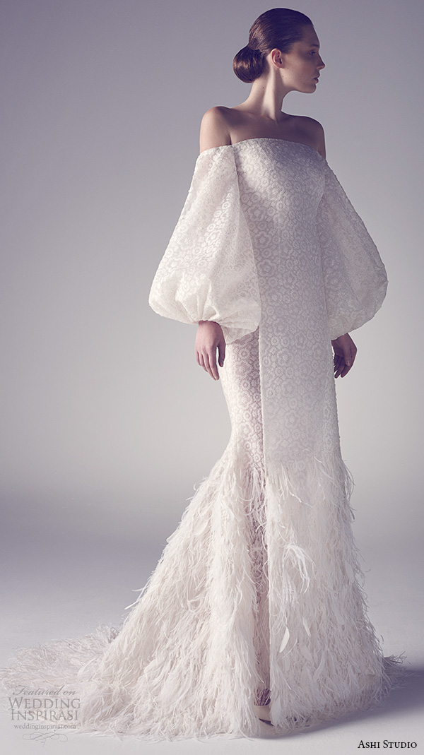 Bubble Wedding Dress