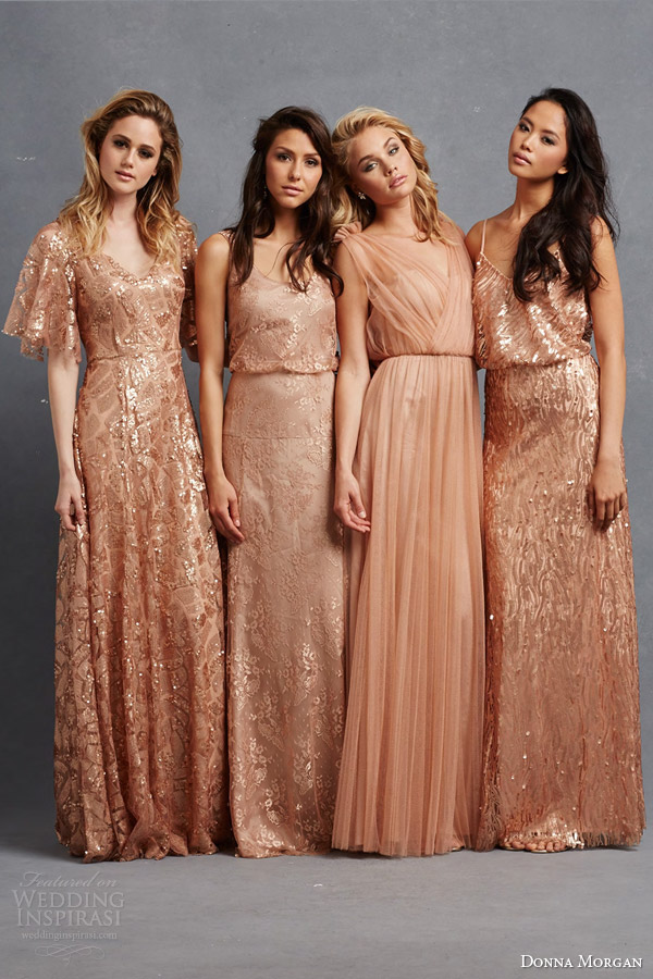 Donna Morgan Serenity Bridal Party Collection