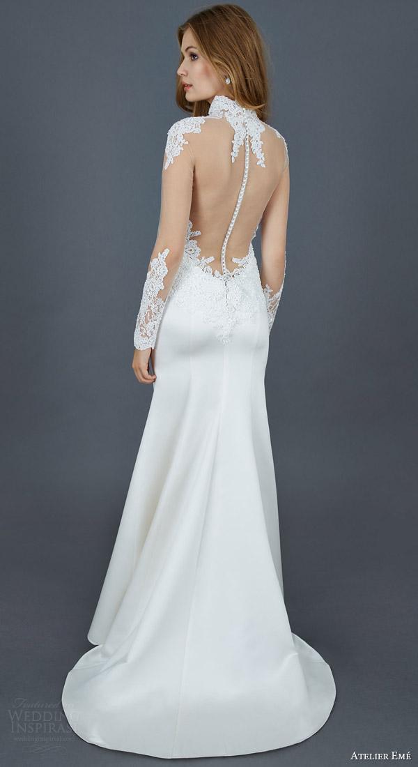 New Cap Sleeve Wedding Dress Illusion Neckline