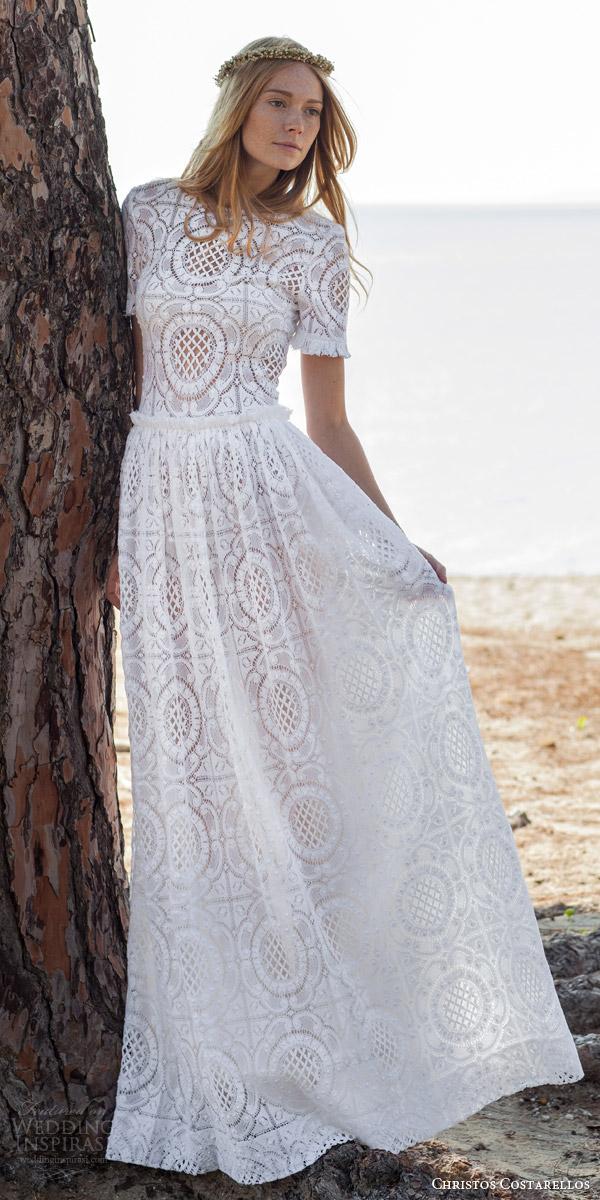 Christos Costarellos Spring 2016 Wedding Dresses  Wedding