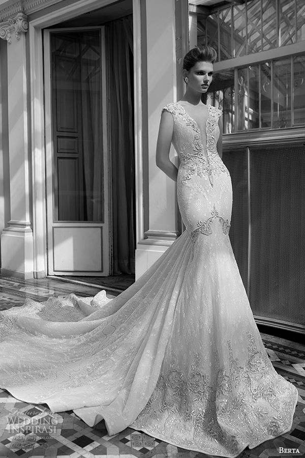 Berta Fall 2016 Wedding Dresses Bridal Photo Shoot