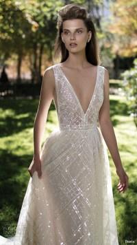 Plunging Neckline Wedding Dress | www.imgkid.com - The ...