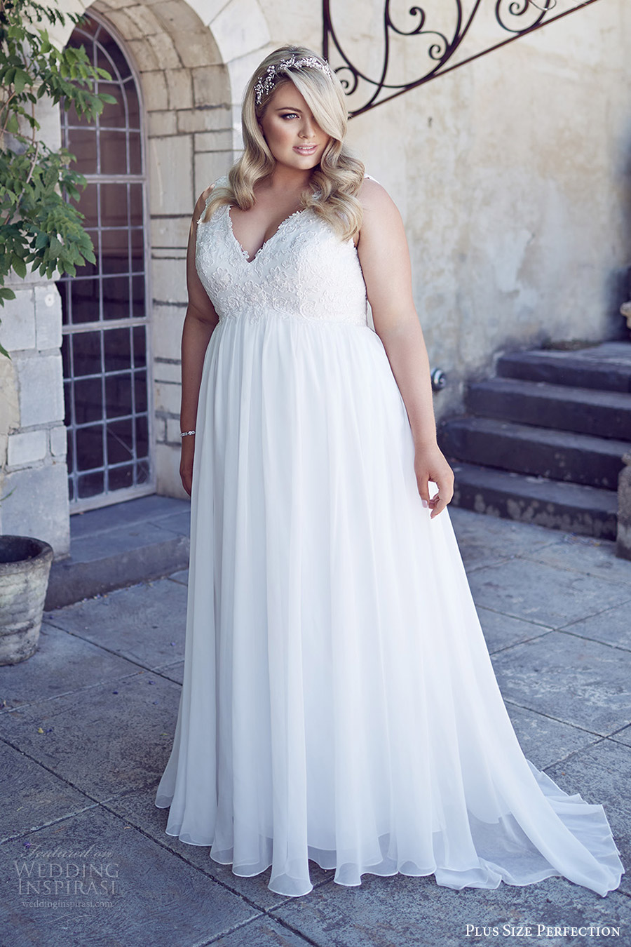 Plus Size Perfection Wedding Dresses  Its A Love Story