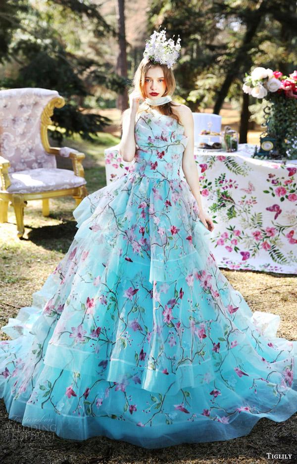 Turquoise And Pink Wedding Dress Wwwpixsharkcom