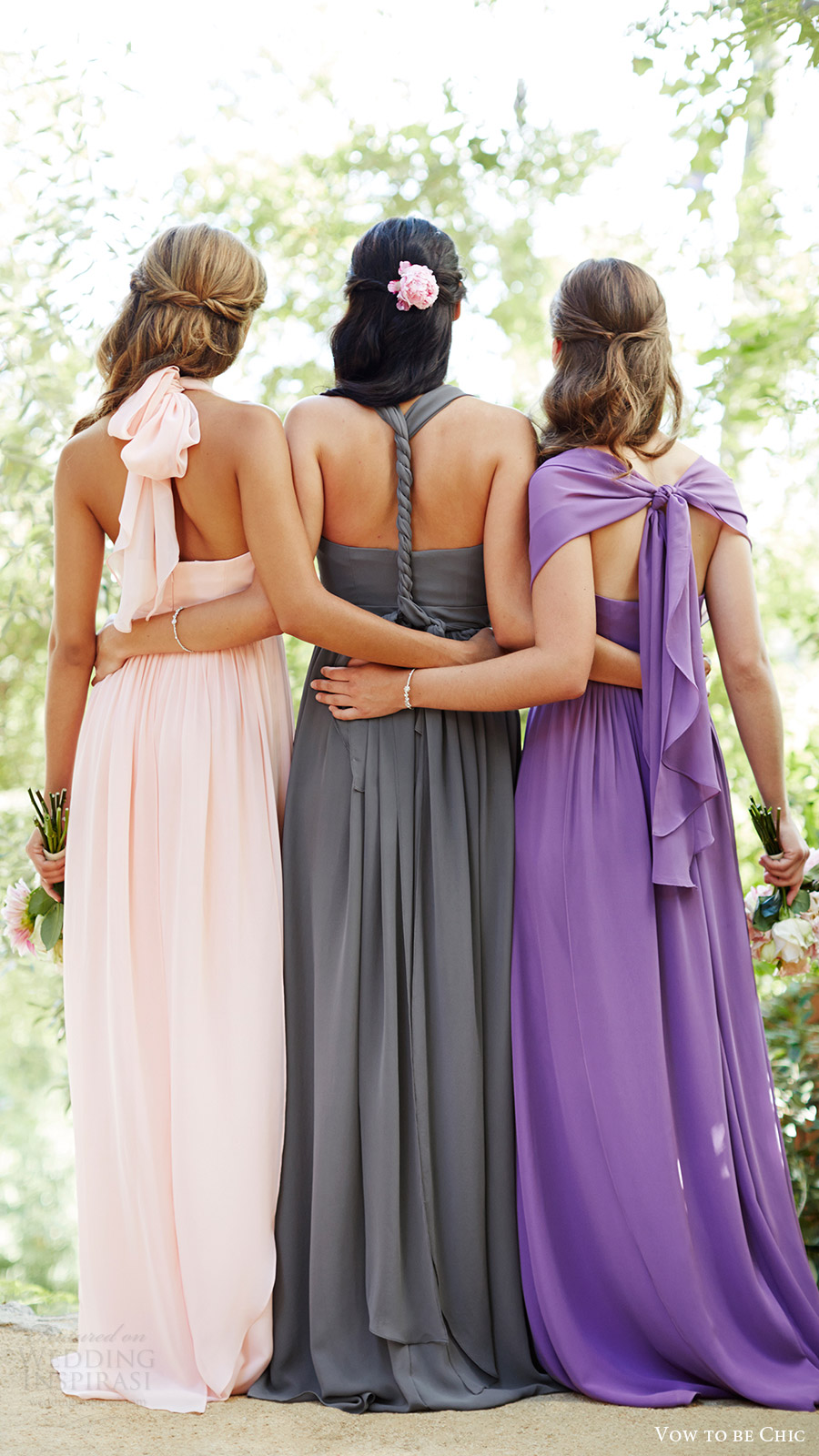 vow to be chic 2016 aidan bridesmaid dress mismatch mix match bridesmaids gowns for rent