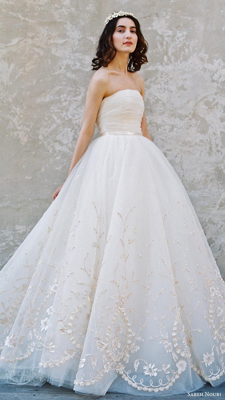 Sareh Nouri Bridal Spring 2017 Wedding Dresses  Wedding Inspirasi
