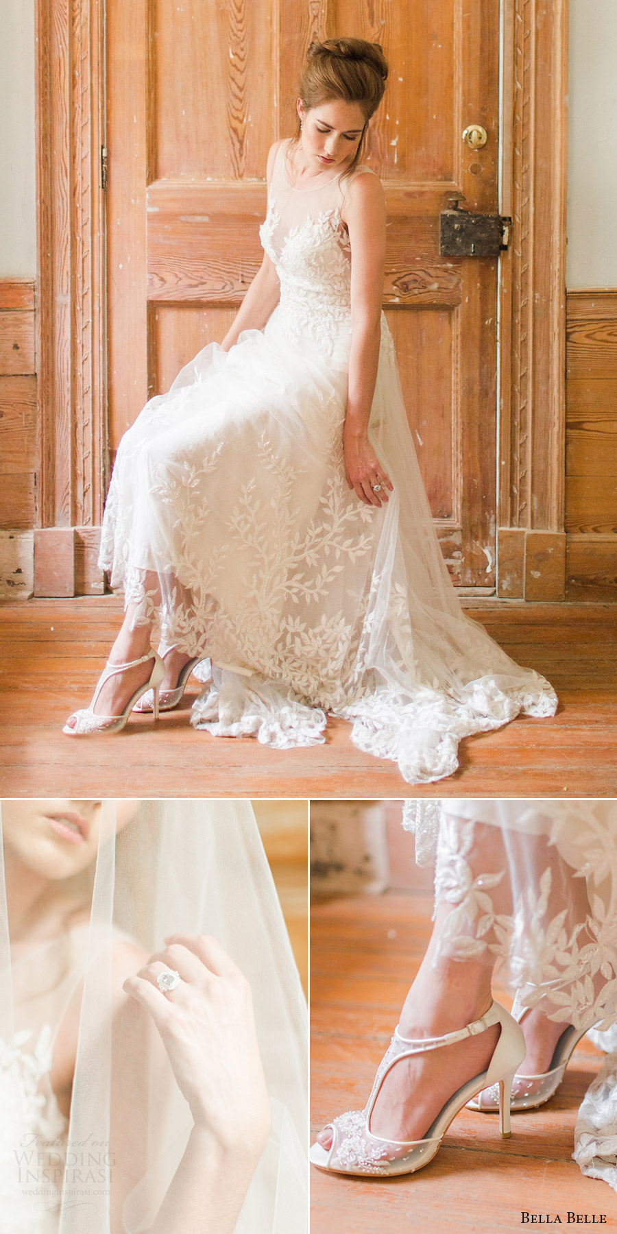 Fully Beaded Wedding Dress