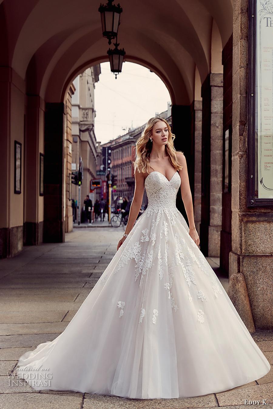 WEDDING Eddy K 2017 Wedding Dresses Milano Bridal Collection RUMOR BUS