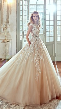 Popular Wedding Dresses in 2016  Part 1: Ball Gowns & A