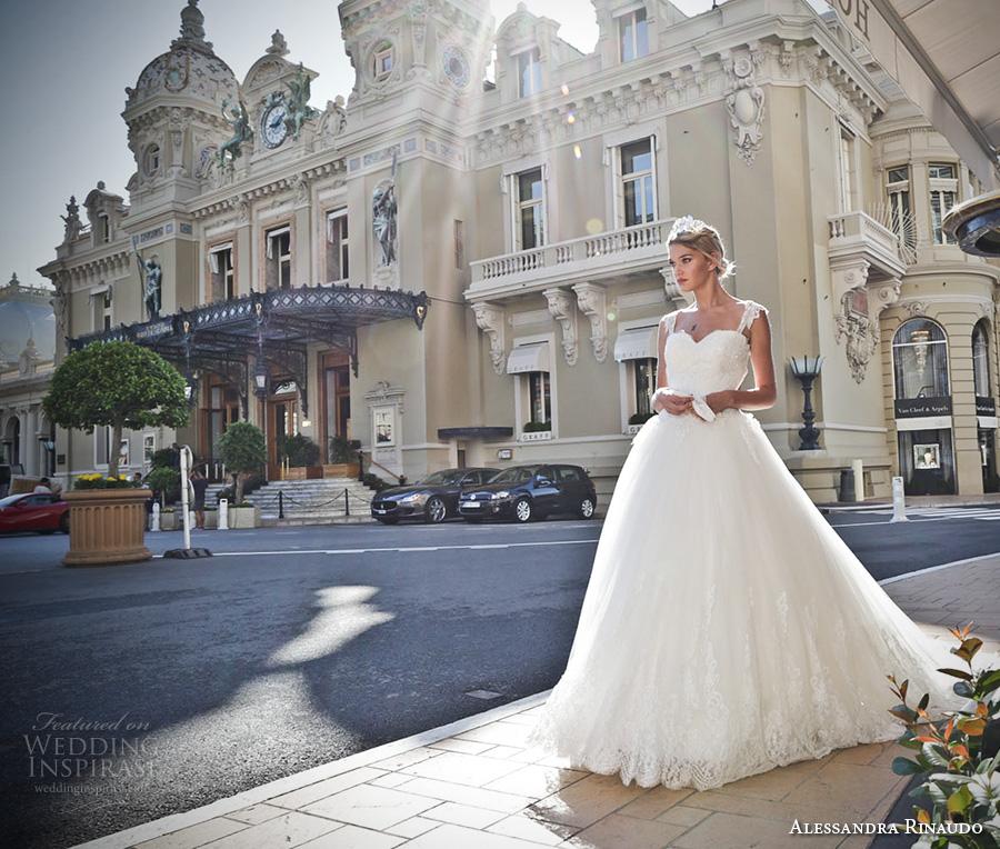 alessandra rinaudo 2017 bridal cap sleeves lace strap sweetheart neckline heavily embellished bodice princess ball gown wedding dress lace back royal long train (24) mv