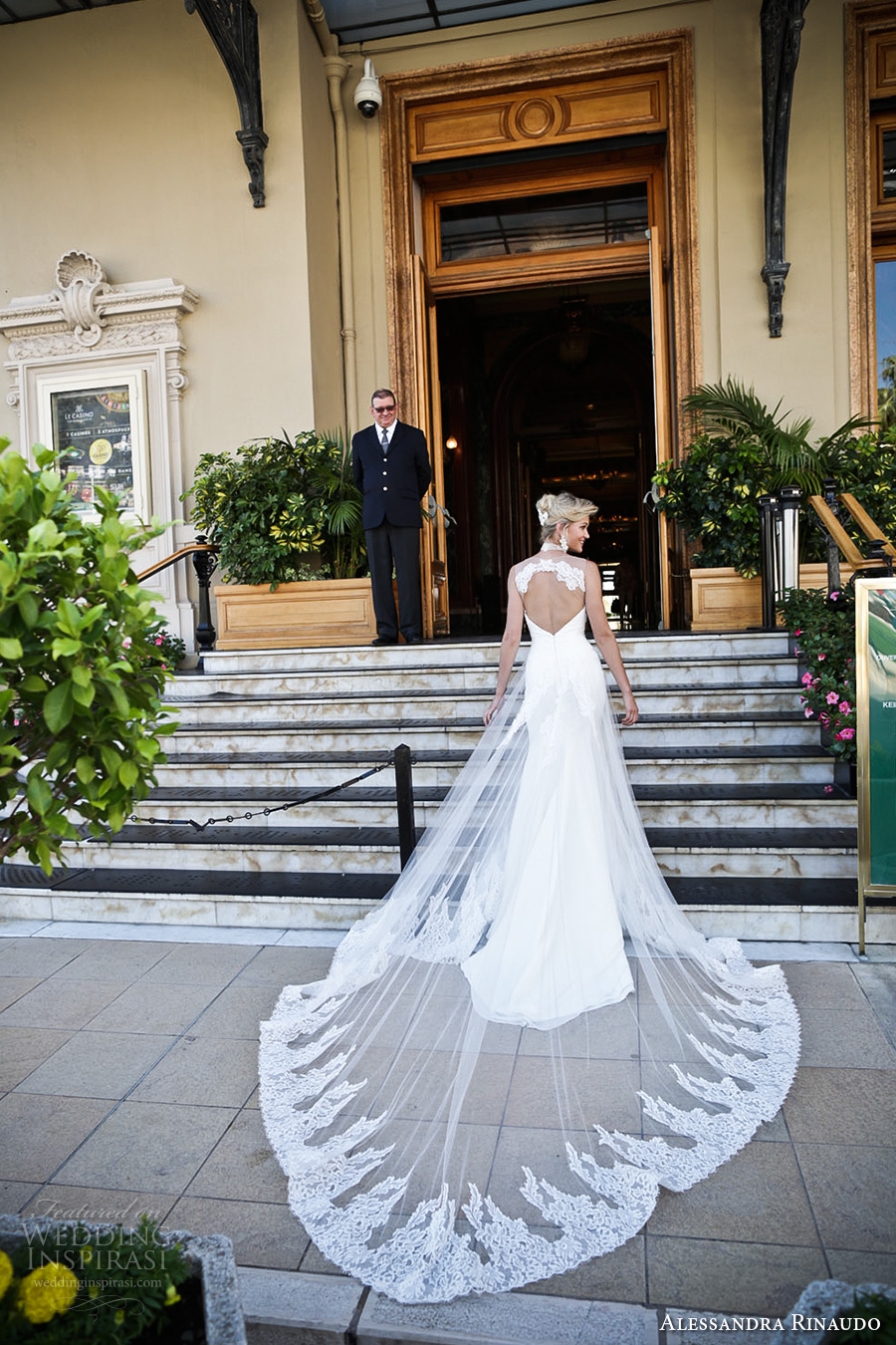 alessandra rinaudo 2017 bridal sleeveless illusion thick strap sweetheart neckline heavily embellished bodice elegant a  line wedding dress keyhole back long train (16a) bv