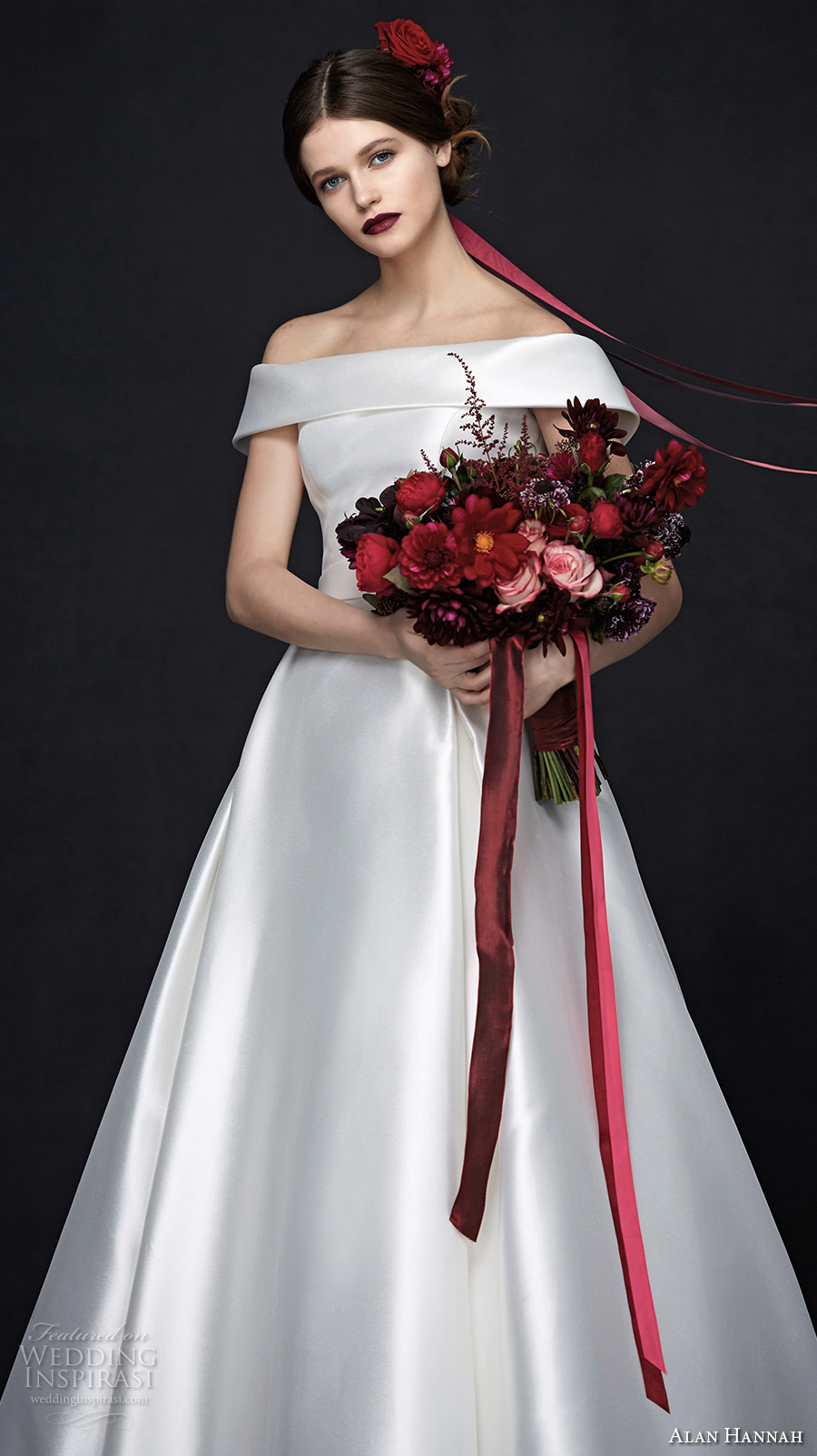 Alan Hannah 2017 Wedding Dresses Porcelain Bridal