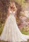 Maggie Sottero a Line Lace Wedding Dresses