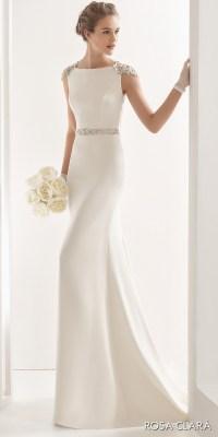 Simple Elegant Wedding Gowns Sleeves - Bridesmaid Dresses