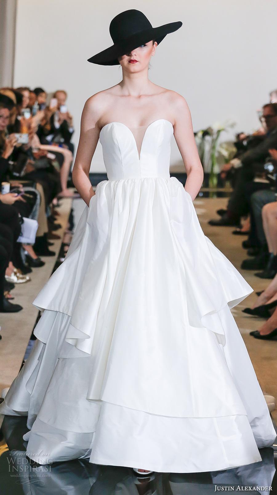 Justin Alexander Spring 2018 Wedding Dresses  New York
