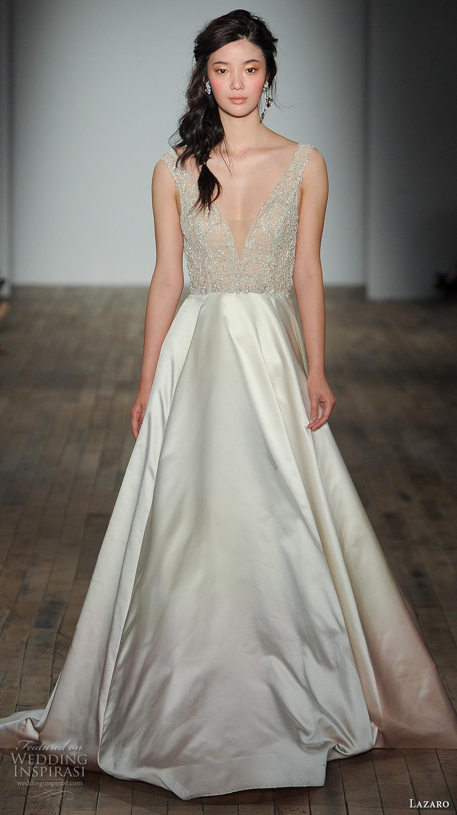 Lazaro Fall 2017 Wedding Dresses New York Bridal Fashion