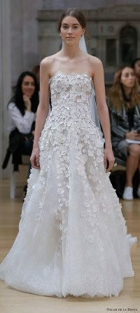 Oscar de la Renta Spring 2018 Wedding Dresses  New York ...