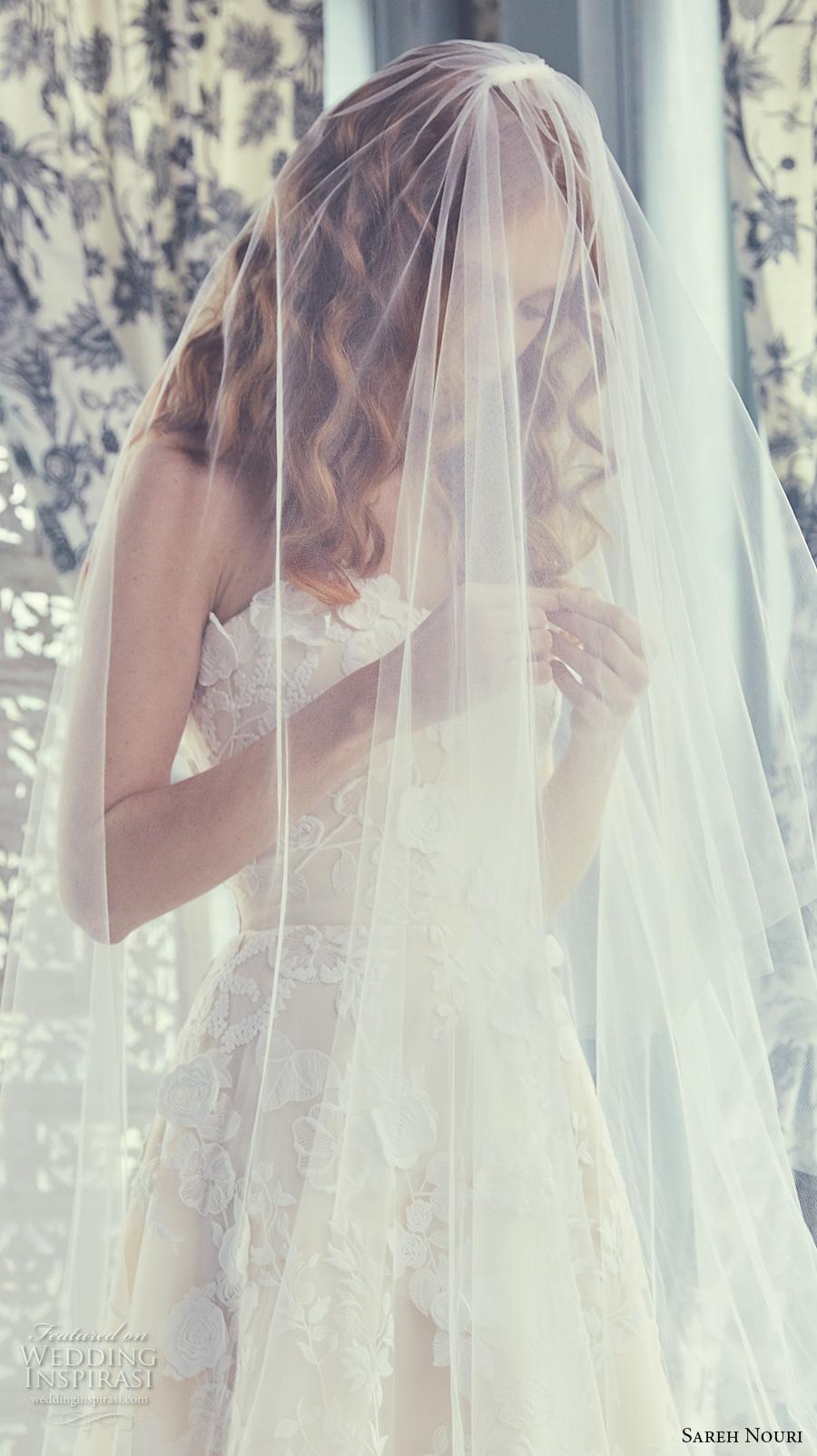 Sareh Nouri Spring 2018 Wedding Dresses Wedding Inspirasi