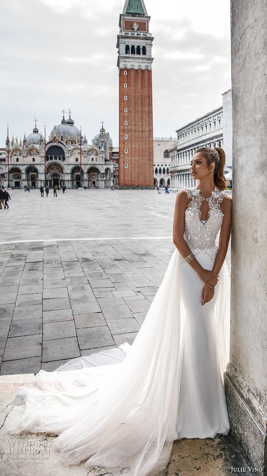 Julie Vino Spring 2018 Wedding Dresses  Venezia Bridal Collection  Wedding Inspirasi