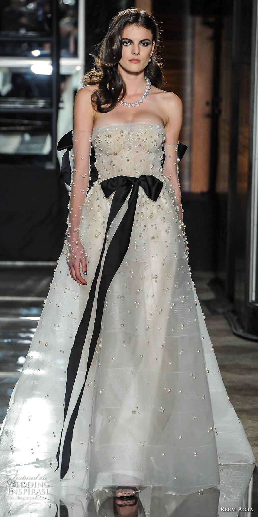 870efb4a1b1a Reem Acra Spring 2018 Wedding Dresses New York Bridal
