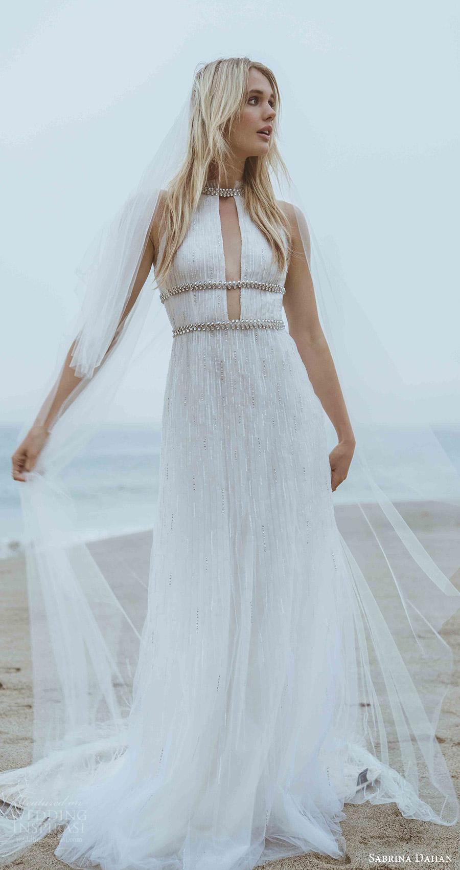 Sabrina Dahan Spring 2018 Wedding Dresses  Wedding Inspirasi