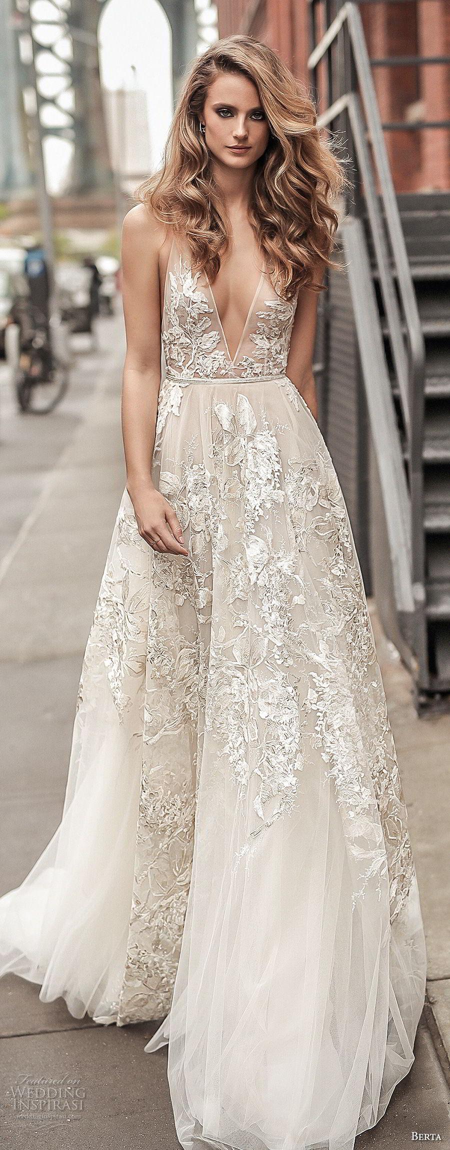Berta Spring 2018 Wedding Dresses  Campaign Photos  Wedding Inspirasi