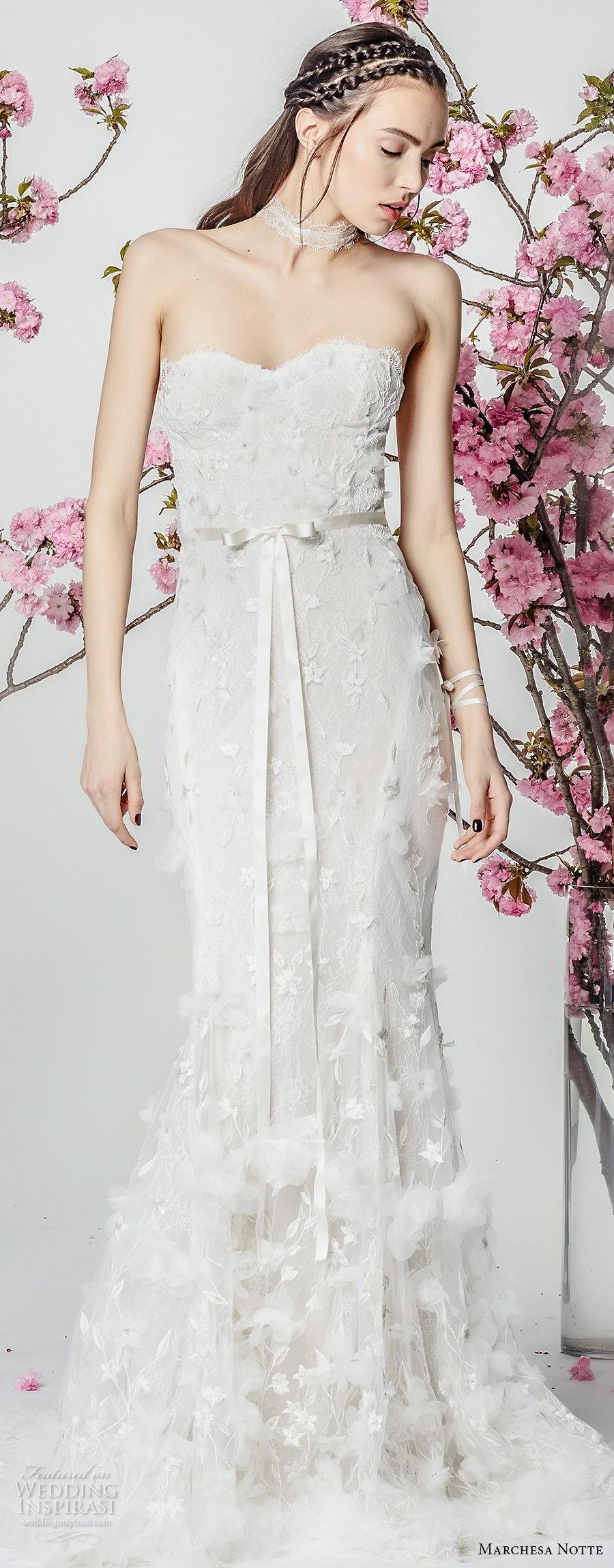 Marchesa Notte Spring 2018 Wedding Dresses Wedding Inspirasi
