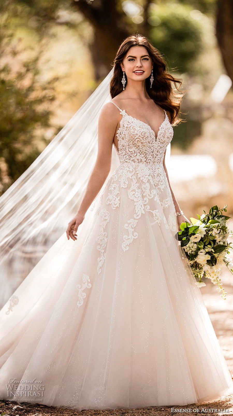 Essense of Australia Fall 2017 Wedding Dresses  Wedding Inspirasi