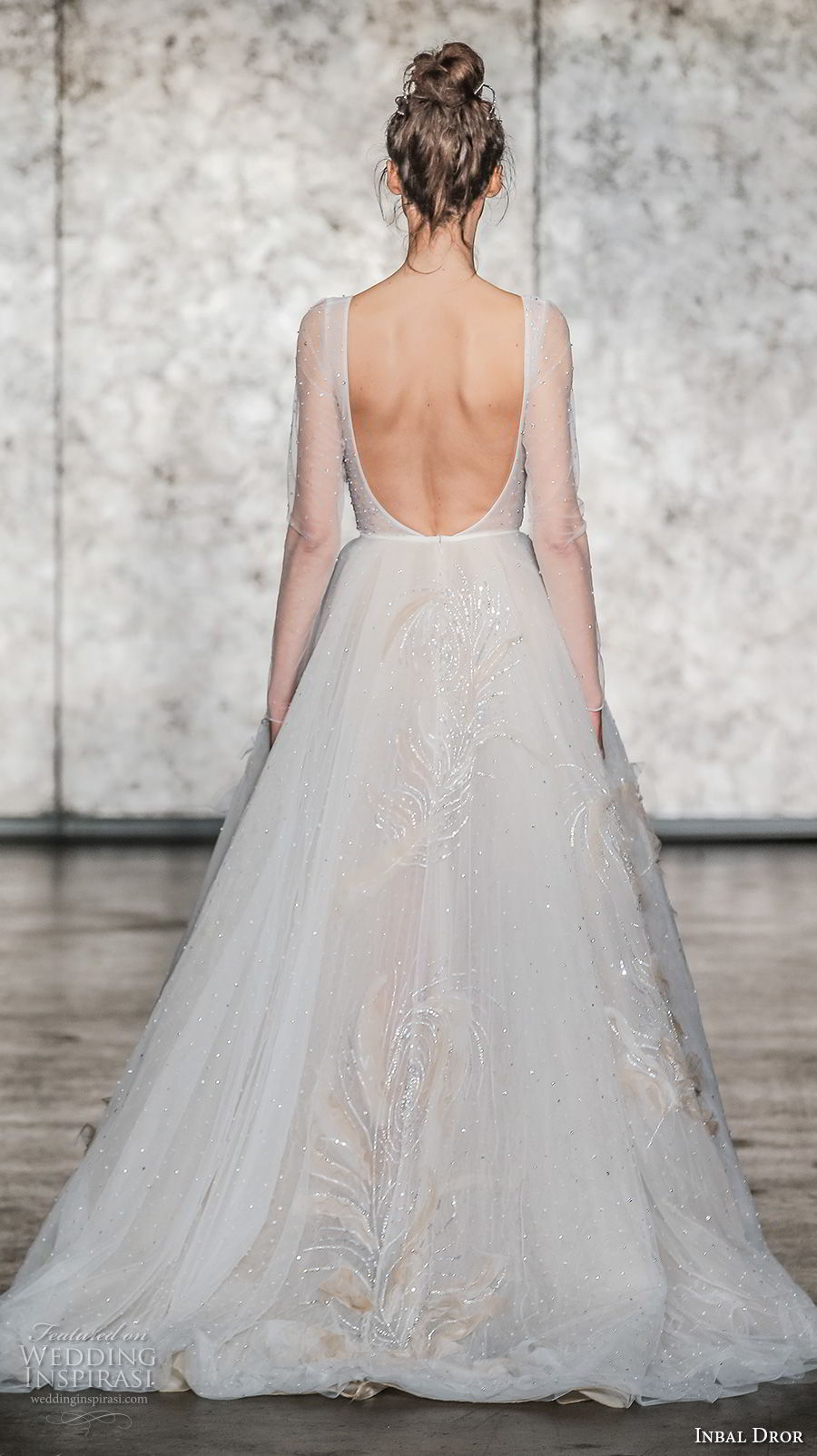 Inbal Dror Fall 2018 New York Bridal Runway Show Wedding