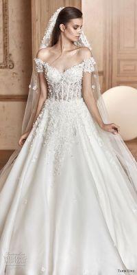 Tarik Ediz White 2017 Wedding Dresses | Wedding Inspirasi
